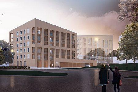 Uusia vuokra-asuntoja Kurjenmäkeen